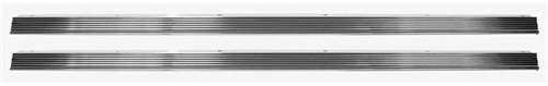 1968 - 1974 Nova Rocker Chrome Panel Molding Set with Hardware