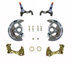 1968 - 1972 Nova Disc Brake Mini Kit, Spindles, Caliper Brackets, and Dust Shields