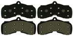 1967 - 1968 Chevelle / Nova Front Disc Brake Pads Set, Organic for 4 Piston Calipers