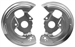 1967 - 1968 Front Disc Brake Backing Plates for 4 Piston Calipers, Pair