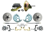 1964 - 1972 Chevelle power disc brake conversion kit with 11 inch booster