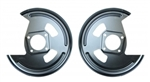 1968 - 1972 Rear Disc Brake Conversion Backing Plates, Pair