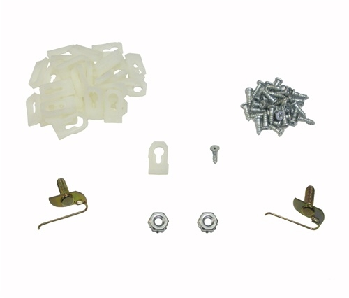 1968 1969 Chevelle Vinyl Top Molding Clips Set Clips Studs And Nuts
