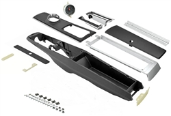 1966 - 1967 Chevelle Console Kit, Automatic with Clock and Lock