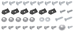 1966 - 1967 Chevelle Console Screw Hardware Kit