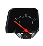 1968 - 1972 Nova Console Gauge, FUEL, Black