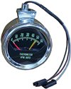 1966 Chevelle Tachometer, 5200 Red Line, Knee Knocker