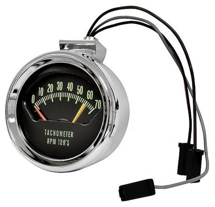 [DIAGRAM_1CA]  1966 Chevelle Tachometer, Knee Knocker, 6200 Red Line | Chevelle Rpm Wiring Diagram |  | Muscle Car Central