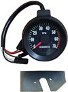 1967 Chevelle 5500 Redline Tachometer with Blinker in Tach