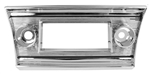 1967 Chevelle Dash Radio Chrome Bezel