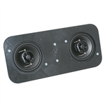 1968 Chevelle Dual Center Dash Stereo Speakers, With Factory Air, Premium