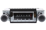 1968 Chevelle USA-740 Radio with Bluetooth, AM/FM Stereo, USB, CD Control and Auxiliary Input