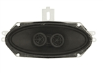 1966 - 1967 Chevelle Center Dash Stereo Speakers, Dual Voice Coil DVC, without Factory Air