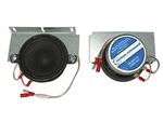 1970 - 1972 Chevelle Dual Front Speaker Dash Stereo Speakers, 30 Watt, Mounts in Original Location, Pair