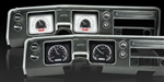 68 Chevelle Dash Instrument Cluster Gauges Set, VHX : Speedometer, Tachometer, Oil Pressure, Water Temp, Voltmeter and Fuel