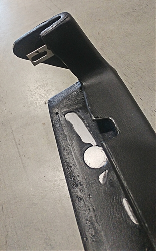OER 8748945 Reproduction Dash Pad for 1969-74 Nova w//o AC Black