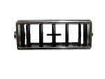 1969 - 1974 Nova Center Dash Air Vent Outlet Louver Insert, Complete Outer Chrome Housing