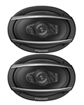 Pioneer Chevelle or Nova Rear Deck Speakers Set, 6 x 9 Inch, Pair