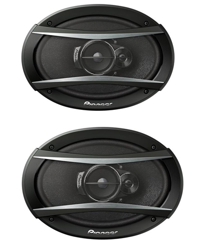 Pioneer Chevelle And Nova Rear Deck Speakers Set 6 X 9 Inch Pair