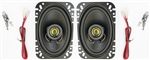 Kick Panel Speakers for 68 - 69 Nova and 65 - 69 Chevelle, 80 Watts