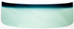 1966 - 1967 Chevelle Windshield, Green Tinted, 2 Door Hardtop & Convertible