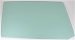 1966 - 1967 Chevelle Door Glass, RH, Green Tint, 2 Door Hardtop & Convertible, Each