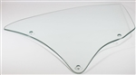 1966 - 1967 Chevelle Quarter Window Glass, RH, Clear, Coupe