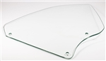 1966 - 1967 Chevelle Quarter Window Glass, RH, Clear, Convertible
