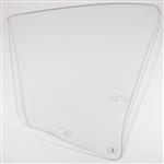 1968 -1969 Chevelle Quarter Window Glass, Coupe, Clear, LH Side