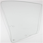 1968 -1969 Chevelle Quarter Window Glass, Coupe, Clear, RH