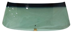 1968 - 1972 Chevelle Windshield Green Tint with Antenna, 2 Door Hardtop