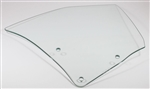 1968 - 1972 Chevelle Quarter Window Glass, Convertible, Clear, RH Side