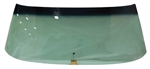 1968 - 1972 Chevelle Windshield, Green Tint, With Antenna, Convertible