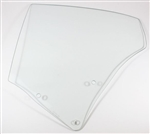 1970 - 1972 Quarter Window Glass, Coupe, Clear, LH Side