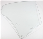 1970 - 1972 Quarter Window Glass, Coupe, Clear, RH Side