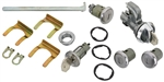 1968 Chevelle Complete Lock Cylinder Set, Octagon Head