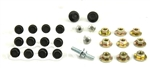 1970 - 1972 Chevelle Door Hardware Mounting Bolt Kit, 27 Pieces