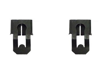 1966 - 1972 Chevelle / Nova Door Lock Rod and Latch Mechanism Opening Rod  Clips - Pair