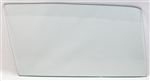 1968 - 1972 Nova Door Window Glass, CLEAR Right Hand Side