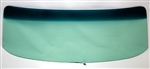 1968 - 1972 Chevy II Nova Green Tint Windshield with Antenna, 2 Door
