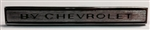 1969 Chevelle Header Panel Emblem By Chevrolet