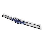 1969 - 1972 Nova Front Hood Lip Center Chrome Molding Emblem 3953840, USA Made