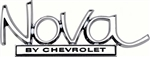 "1969 - 1972 Nova Trunk Deck Lid Emblem "" By Chevrolet """