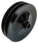 Chevelle or Nova Power Steering Pump Pulley, 5-3/4 Inch Diameter, 2 Groove for A/C