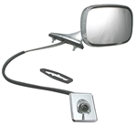 1970 - 1972 Chevelle Door Mirror, Remote, Left Hand