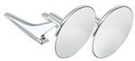1966 - 1972 Chevelle / Nova Exterior Door Mirrors Set, Clear Shot, Pair of LH and RH