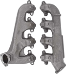 1968 - 1972 Nova Exhaust Manifolds, Big Block, Without Smog