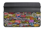 "Holley Sticker Bomb Fender Cover Protective Mat, 36"" x 26"""