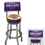 "Chevrolet Bar Stool, ""WE USE GENUINE PARTS"""
