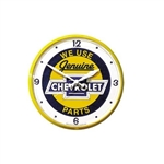 Wall Clock, GENUINE CHEVROLET PARTS CLOCK